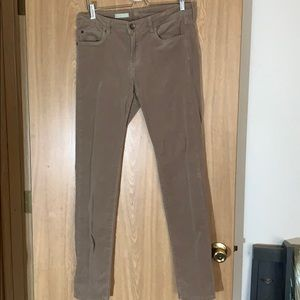 KUT Dianna Skinny Khaki cords, sz 10